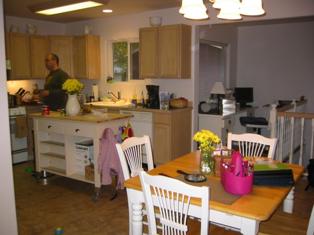 Kitchen & office nook