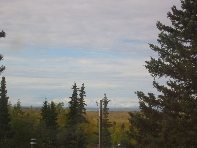 View from Eagle River