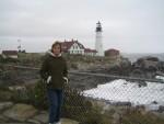 Donna at Portland Head