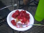 Alicia's berry pie