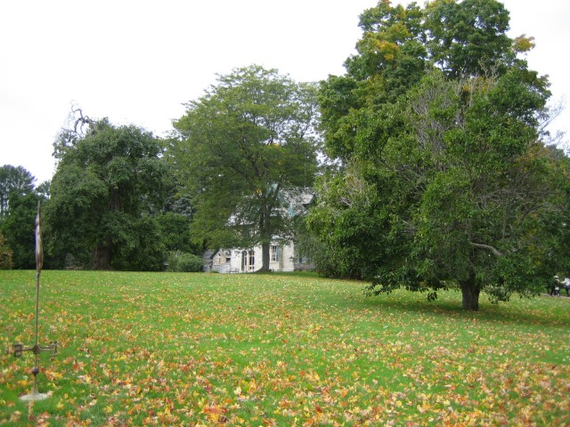 House and grounds at Rockwell Museum