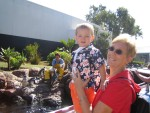 Camden with his Grandma