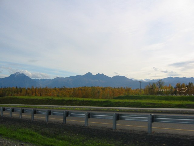 Driving back to Eagle River