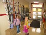 Snow gear at Megan's school