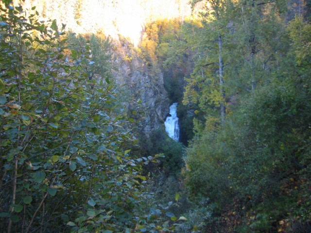 Thunderbird Falls (end of trail)