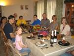Megan, Devon, Gisele, Daryl, Mom, Derek, Doug, Glenda & Robin