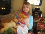 Megan got a High School Musical 2 game